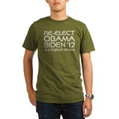 Logical Obama 2012 Organic Men's T-Shirt (dark)