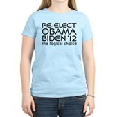 Logical Obama 2012 Women's Light T-Shirt