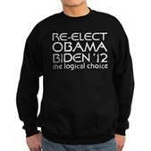 Logical Obama 2012 Sweatshirt (dark)