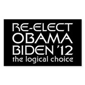 Logical Obama 2012 Sticker (Rectangle)