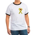 Yellow Ribbon Love Miss Sailor Ringer T