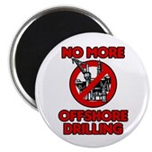 No More Offshore Drilling Magnet