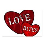 Urban Grunge Love Bites Postcards (Package of 8)