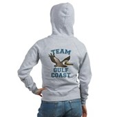 Team Gulf Coast Pelican Women's Zip Hoodie