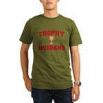 Trophy Husband Organic Men's T-Shirt (dark)