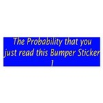 Sticker (Bumper) : Sizes