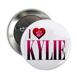"I Heart Kylie 2.25"" Button"