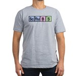 Scrubs Made of Elements Men's Fitted T-Shirt (dark)