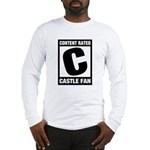 Content Rated C: Castle Fan Long Sleeve T-Shirt