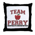 Team Perry Throw Pillow
