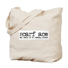 Scarf Ace Tote Bag