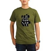  iBand (green) Organic Kids T-Shirt (dark)