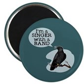  Singer with a Band Magnet