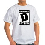 Content Rated D: Dancing With The Stars DWTS Fan Light T-Shirt