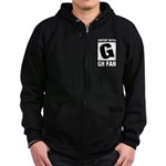 Content Rated G: General Hospital Fan Zip Hoodie (dark)