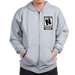 Content Rated N: Numb3rs Fan Zip Hoodie
