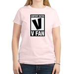 Content Rated V: V Fan Women's Light T-Shirt