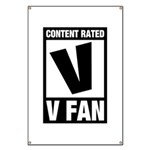 Content Rated V: V Fan Banner