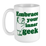 Embrace Your Inner Geek Large Mug