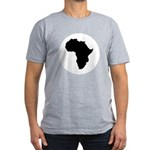 Africa Men's Fitted T-Shirt (dark)