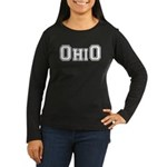 OhiO Boobies Women's Long Sleeve Dark T-Shirt