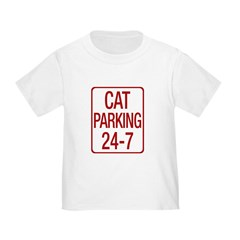 Cat Parking Toddler T-Shirt
