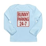 Bunny Parking Long Sleeve Infant T-Shirt