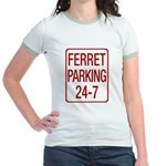 Ferret Parking Jr. Ringer T-Shirt