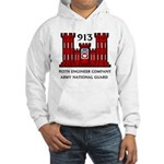 913th Engineer Company Hooded Sweatshirt