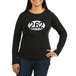 2.62 Women's Long Sleeve Dark T-Shirt