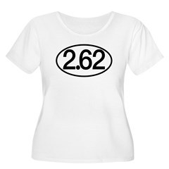 2.62 Women's Plus Size Scoop Neck T-Shirt