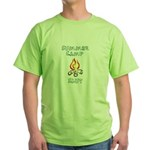 Summer Camp Slut Green T-Shirt