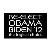Logical Obama 2012 38.5 x 24.5 Wall Peel