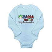 2up for America Long Sleeve Infant Bodysuit