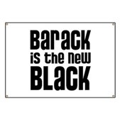 Barack the New Black Banner