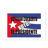 Voto! Esteban Colberto Postcards (Package of 8)