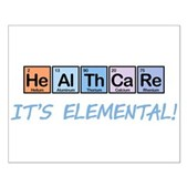 Elemental Healthcare Small Poster