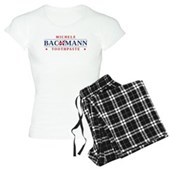 Funny Bachmann Toothpaste Women's Light Pajamas