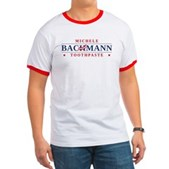 Funny Bachmann Toothpaste Ringer T