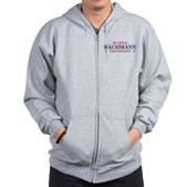 Funny Bachmann Toothpaste Zip Hoodie