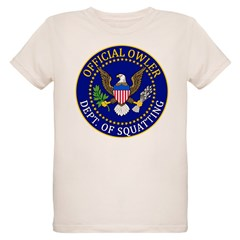 Official Owling Dept Seal Organic Kids T-Shirt