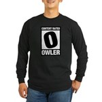 Content Rated Owler Long Sleeve Dark T-Shirt