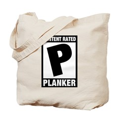 Content Rated Planker Tote Bag