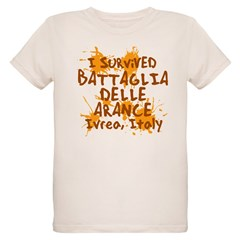 Ivrea Battle Of The Oranges Souvenirs Gifts Tees Organic Kids T-Shirt