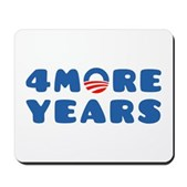 4 More Years Mousepad