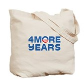 4 More Years Tote Bag