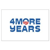 4 More Years Large Poster