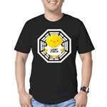 Lost Chick - Dharma Initiative Men's Fitted T-Shirt (dark)