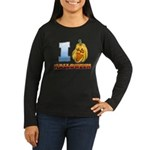 I Love Halloween Women's Long Sleeve Dark T-Shirt