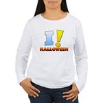 I ! Halloween Women's Long Sleeve T-Shirt